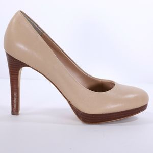 BANANA REPUBLIC NUDE LEATHER PUMP SIZE 7.5